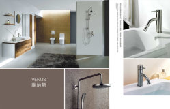 Venus series - round bathroom hardware - shower set & basin faucet