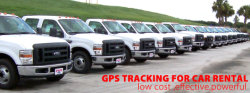 GPS Tracking for car rental