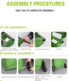 Assembly Manual For Dustbin