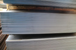 Flat steel in stock