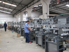 Oblique Arm Type Flat screen printing machine