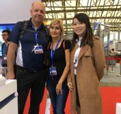 Poland Customer Visit our Booth
