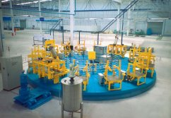 Rotary Table PU Foaming Line