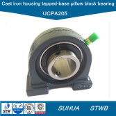 Pillow-Block-Bearing-with-Cast-Iron-Tapped-Base-Housing-UCPA205-