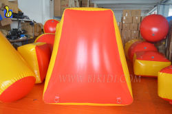 Air Tight Paintball Bunkers, Cheap Obstacle Inflatable Paintball Bunkers K8005