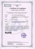RoHS certification for halogen lampholder