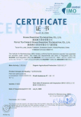 IMO Certificate for Organic Tea Plantation