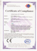 CE certificate of inflatable advertisement