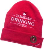 Red Canadian Dringking Toque Bottle Opener