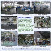 Bicycle factory---Hangzhou Snowwolf Bicycle Co.,Ltd