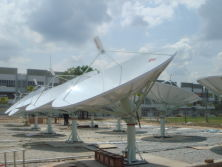 ABNxcess (Malaysia′s First Digital Cable Network) - 4.3m Antenna Project