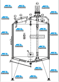 Steam Heating Mixing Tank