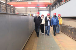 Africa customer visting our factory