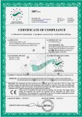 CE CERTIFICATE FOR GAS SUPPLY