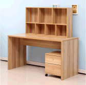 2017 YIJIA New Design Computer Desk with Bookcase
