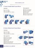 Parallel Shaft Gear Motors