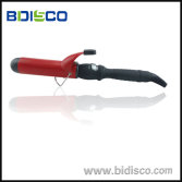 Hair curling iron with private label