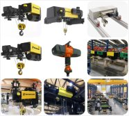 European Electric Wire Rope Hoist Line-3