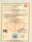 FCC Certification for walk through metal detector