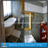 Wall Mosaic and Tropical Green Marble for Hotel Decoration