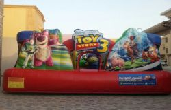 Toys Story 3 Toddler inflatable bouncer