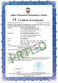 New certificate of CE-EMC