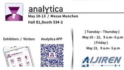 Analytica Muchen Exhibition 2016