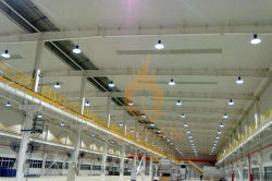 led high bay light for industrial workshop