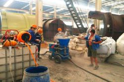 Refractory dry mix gunning machine manufacturers in China