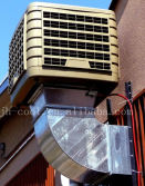 Applications of evaporative air cooler