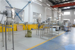 Workshop for Water filling Line