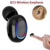 Factory Price V4.1 Wireless Earphone Headphones Hbq Q13 Bluetooth Earphone for iPhone for Samsung