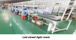 led street light production room
