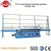 Vertical straight line glass beveling machine