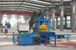 QTF3-20 Paver brick machine in Vietnam