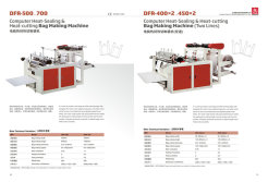 DFR Heat Cutting Bag Making Machine
