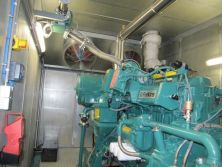 Perkins biogas generator CHP project case