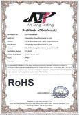 Rohs Certificat of phone case