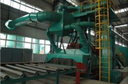 Sand-Blasting Machine for Cranes