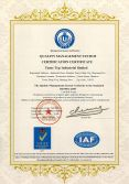 ISO9001:2008 For Plastic Pipe And Fitting