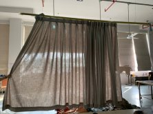 Hotel Project Linen Curtain