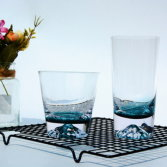 Blue Cleae Glass CUP