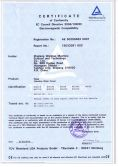 CE certificate of gasoline water pump