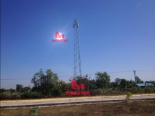 MEGATRO 30M LIGHT TELECOM TOWER at our cient site