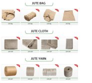 Jute burlap items