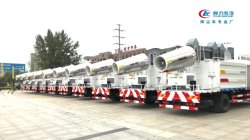 45 Units of City Disinfection Trucks to UAE
