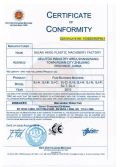 Film blowing machine CE certificate