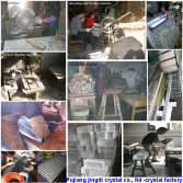 Factory of Crystal glass crafts