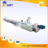 PVC dual strand plastic pipe production line