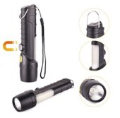 Multi-Functional Aluminum & Plastic Flashlight--NEW!! (11-1SAP02)
